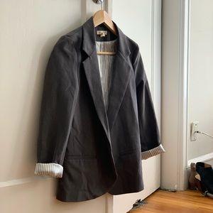 Dark grey blazer from Urban Outfitters
